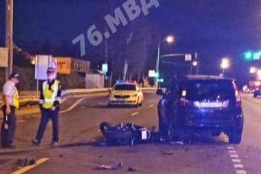На трассе в Ярославском районе погиб молодой мотоциклист