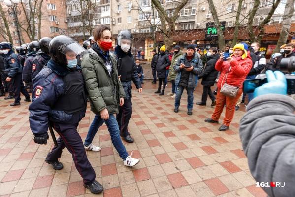 На митингах 31 января журналистов задерживали по всей стране