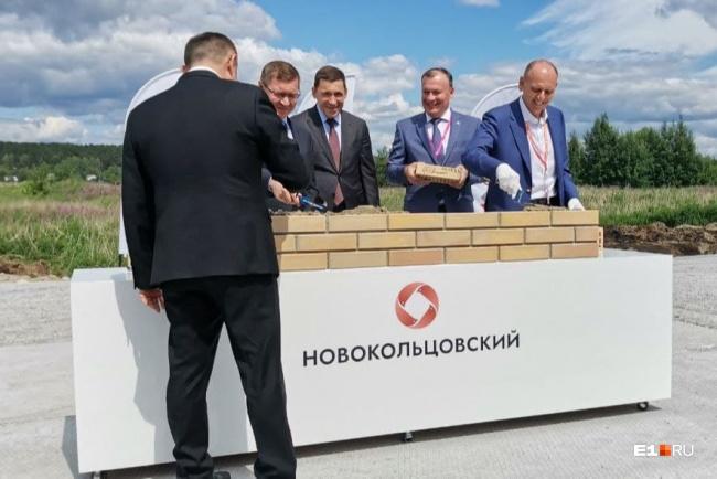 В Новокольцовском 6 июля 2021 года заложили первый камень