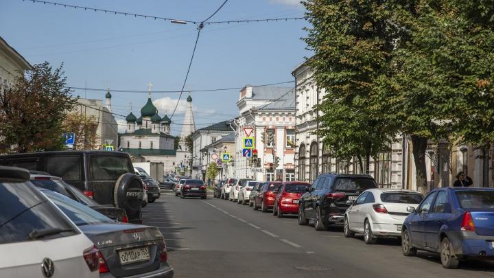 «Самая приличная!»: разглядываем, как выглядит изнанка самой запаркованной улицы центра Ярославля