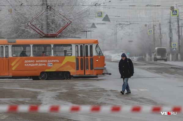 Снежной сказки в ближайшие дни в Волгограде не предвидится
