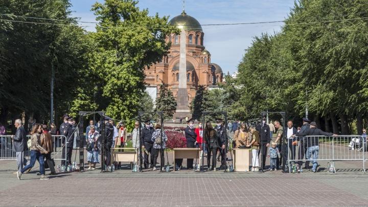 «Жаль, Патриарха не увидели»: как в Волгограде прошло освящение храма Александра Невского