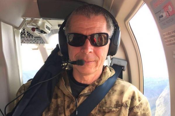 Вадим Сазонов с 2010 года член сборной России по вертолетному спорту