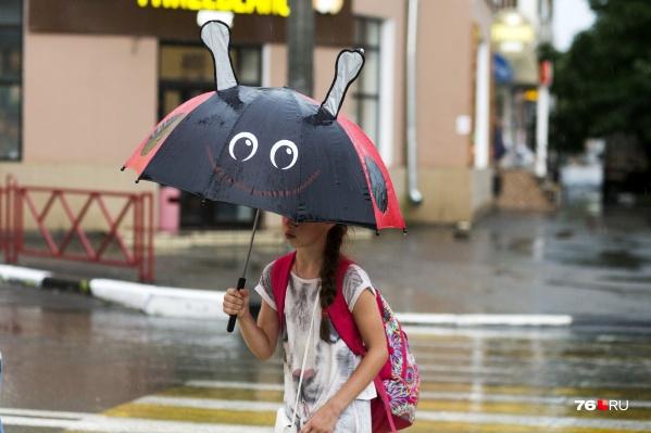 В праздничные выходные в Ярославле будет дождливо