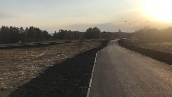 На Татышеве достраивают велодорожку в 4 километра — показываем маршрут