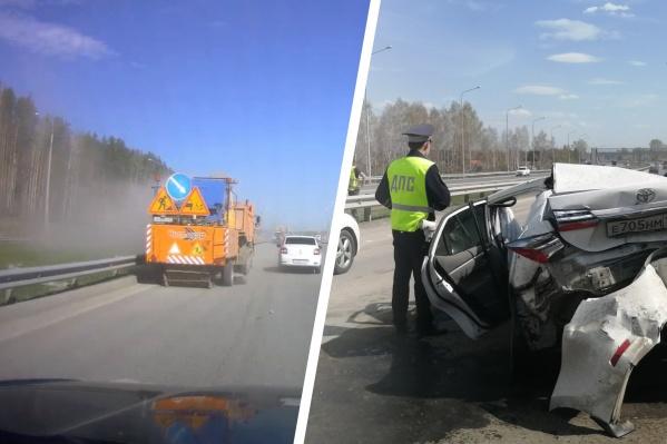 Кто виноват в аварии на Челябинском тракте?