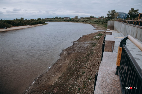 Минус 61 сантиметр — уровень воды от отметки «0»