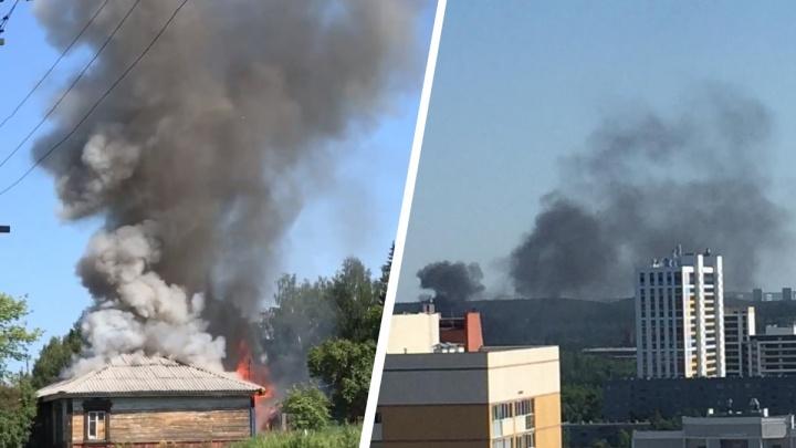 «Мы только их из дома вытащили, сразу всё вспыхнуло»: военный из Екатеринбурга рассказал, как спас людей на пожаре