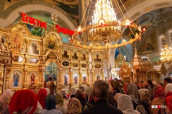 Большие службы проведут в четырех соборах города