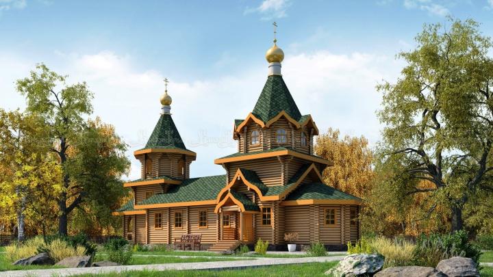 Строительство храма в Сквере Молодоженов начнется во второй половине июля