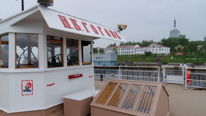 По Северной Двине с музыкой. Фоторепортаж с начала 110-й навигации парохода «Н. В. Гоголь»