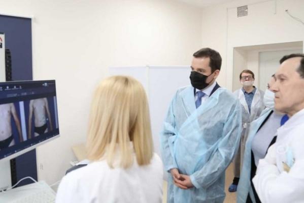 В марте кожно-венерологический диспансер получил уникальную диагностическую систему цифровой дерматоскопии