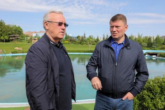 «Людям негде купаться»: губернатор через соцсети поручил мэру оборудовать больше пляжей в Красноярске