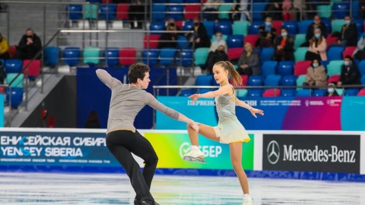 Красноярск выбрали местом сборов для фигуристов олимпийской сборной России