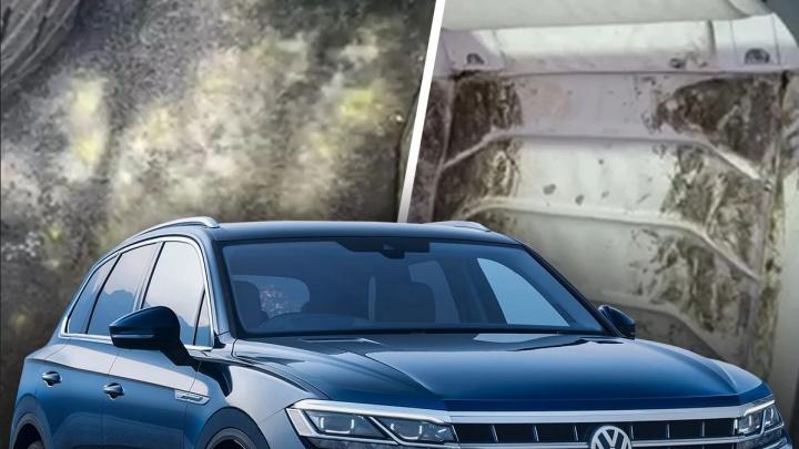 «Якобы я похитил 7 миллионов»: владельца заплесневелого Volkswagen заподозрили в особо крупном мошенничестве