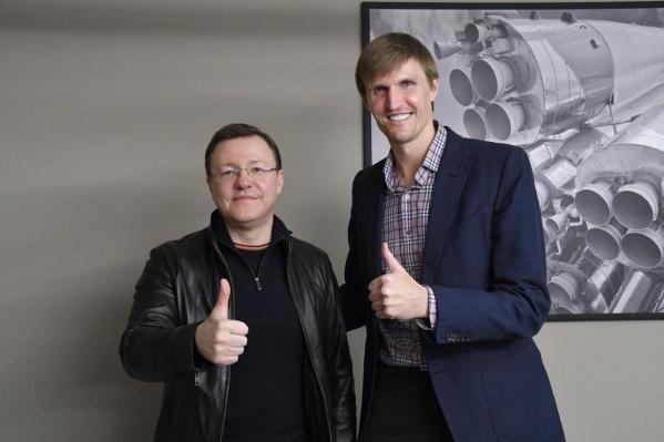 Легендарный российский игрок и глава федерации баскетбола России Андрей Кириленко пообещал поддержку спортивным инициативам Самарской области