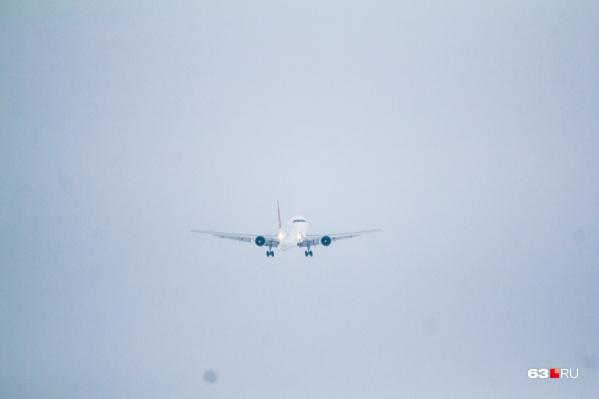 После высадки одного пассажира самолет вылетел в пункт назначения