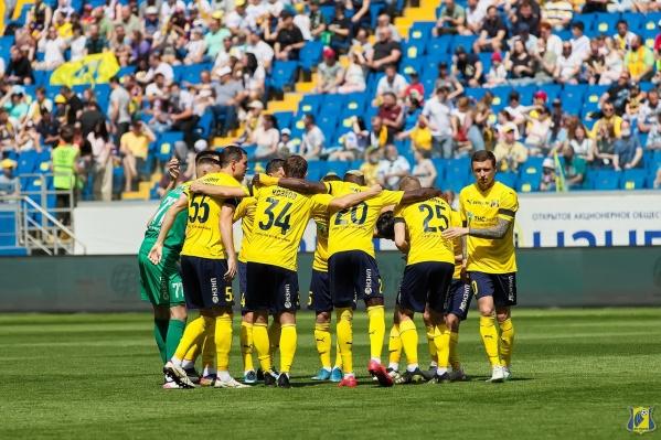 В прошлом сезоне «Ростов» занял девятое место в РПЛ