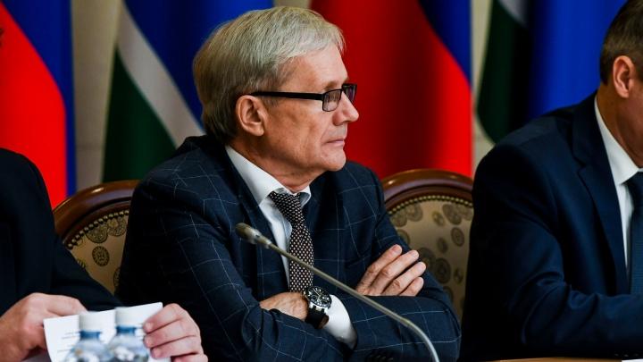 Прокурор Свердловской области Сергей Охлопков решил уйти в отставку