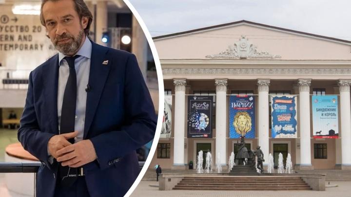 Владимир Машков приезжает в Красноярск за новыми талантами для школы Табакова