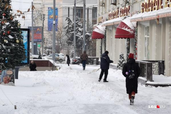 Морозы в Ростове продержатся недолго