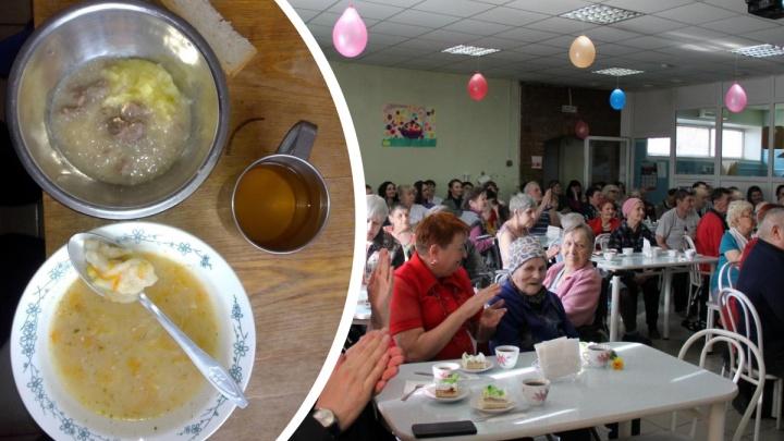 «Хлебные котлеты, супы без мяса»: постояльцы госпансионата в Красноярске жалуются накачествоеды