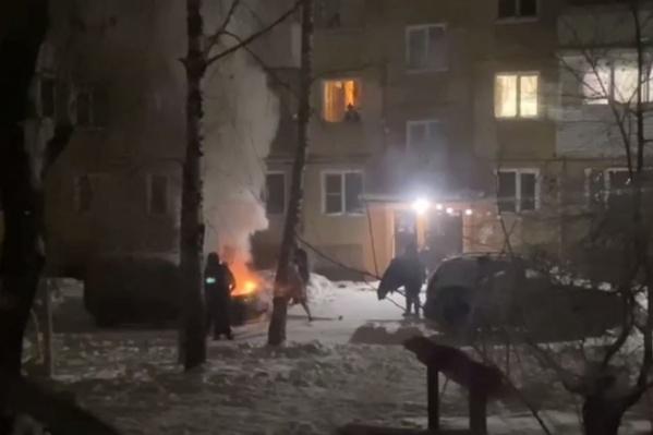 Инцидент произошел в микрорайоне Бугринская роща