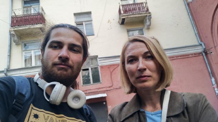 Главный архитектор Омска помогла активистам ВООПИК сохранить два кронштейна с дома на Герцена