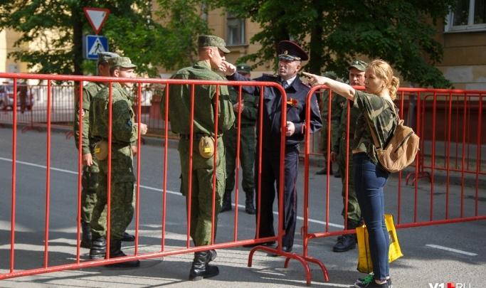 Репетиция парада Победы лишила волгоградцев прогулок по Комсомольскому парку