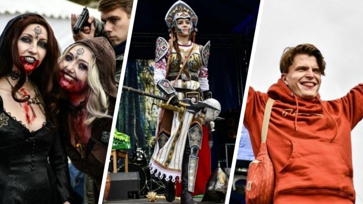 Вампиры, принцессы и приглашенные звезды: 30 ярких фото с фестиваля гик-культуры