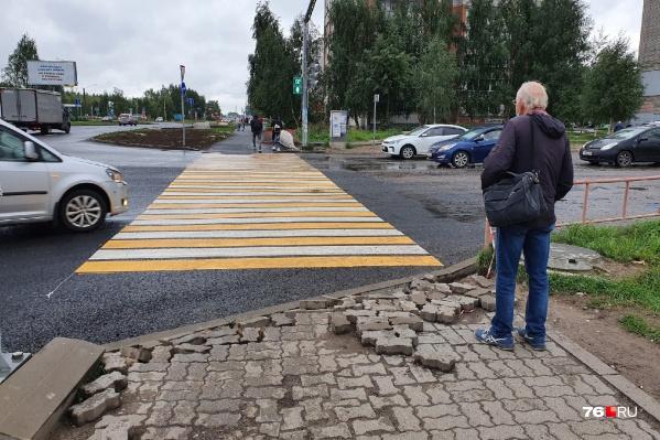 27 августа дорожники обещали сдать проспект Машиностроителей в Ярославле. Как думаете, успеют?