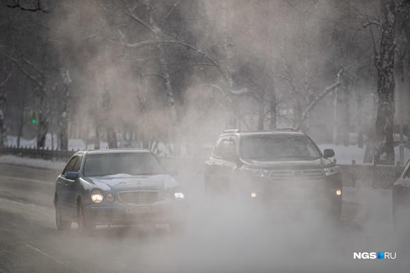 23 февраля в городе столбик термометра опустится до -32 градусов