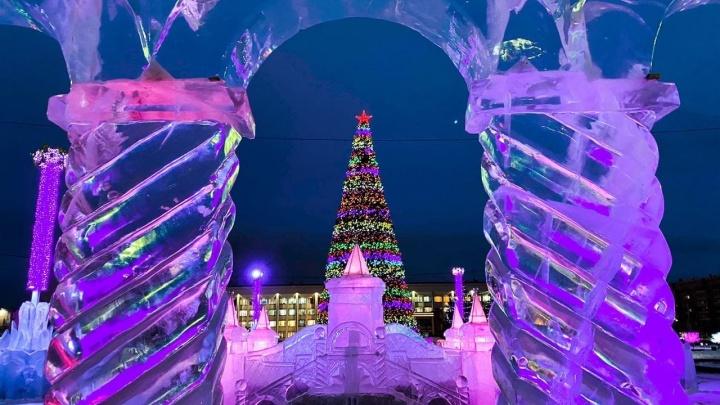 Администрация Магнитогорска потратит на ледовые городки на полтора миллиона больше, чем в прошлом году