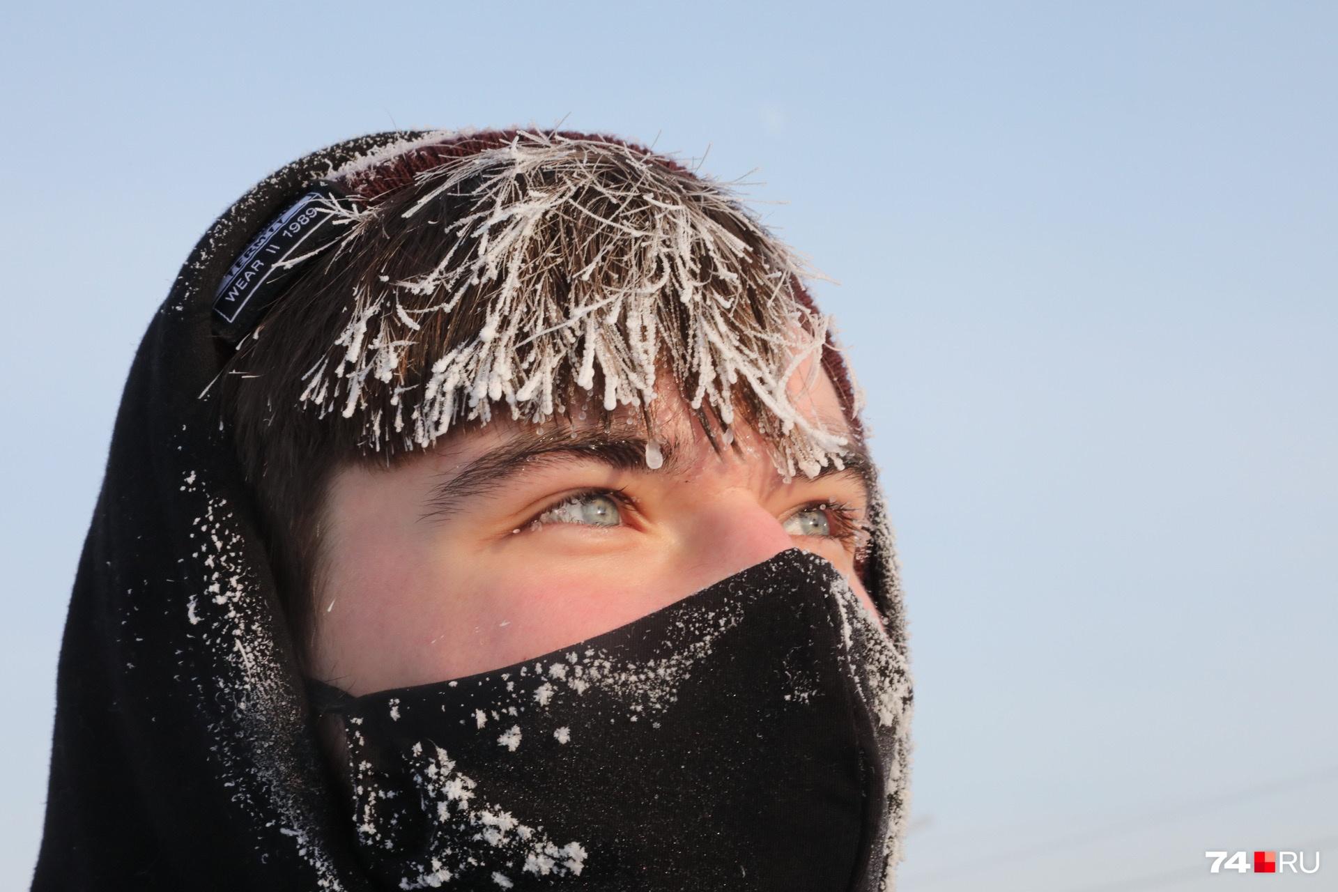 Городам Урала сегодня не повезло с погодой: в Челябинске столбик термометра осел в районе -25 градусов