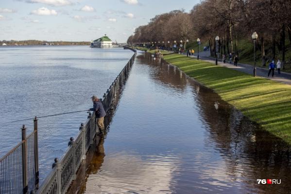 Вид затопленной набережной — самый популярный сюжет для фото сейчас