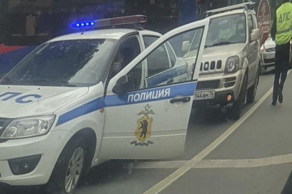 ДТП произошло в районе перечесения проспекта Фрунзе с Московским проспектом