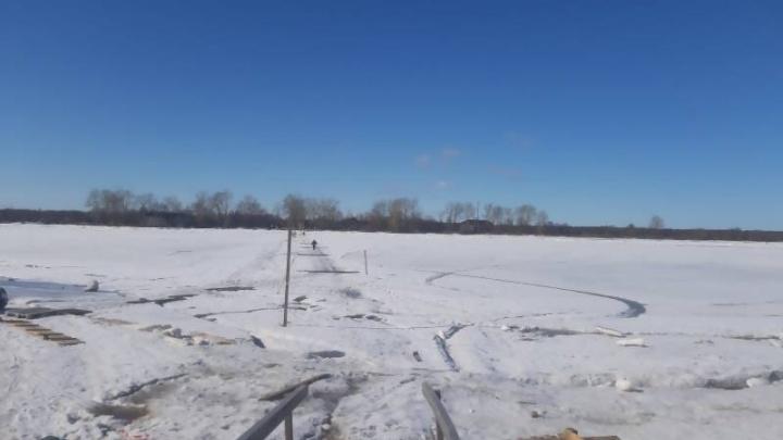 В Архангельске закрывают переправу на24-йлесозавод