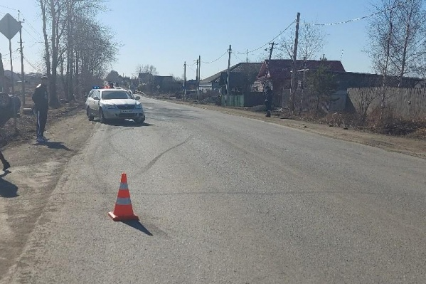 Авария произошла днем 12 апреля