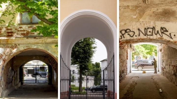 Парадные подворотни: заглядываем в самые интересные ярославские арки