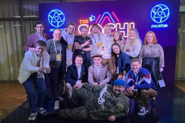 Команда КВН «Сборная Пермского края» вышла в Высшую лигу и нуждается в логотипе. Вы можете помочь его выбрать