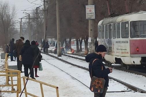 Инцидент произошел на перегоне между остановками «Ростовская» и «Моздокская»