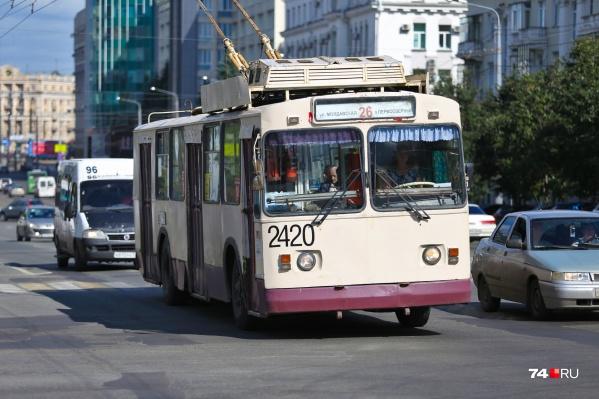 Если соглашение подпишут, Челябинск должен будет получить 168 новых троллейбусов, которыми заменят старый подвижной состав