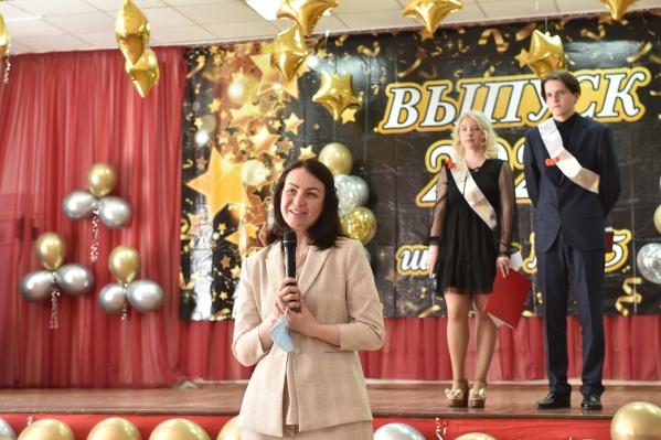 Оксана Фадина отметила, что успех каждого зависит только от себя самого, настойчивости и трудолюбия