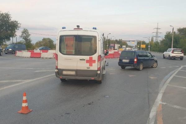 Фельдшер скорой помощи отпущена на амбулаторное лечение