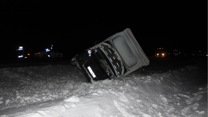 Две «Газели» столкнулись на тюменской трассе, погиб водитель из Ивановской области