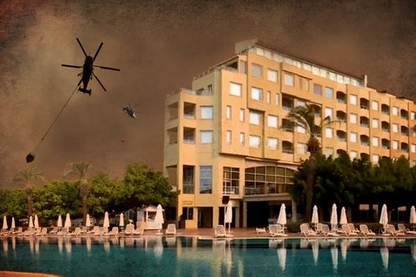 Турецкие курорты сейчас выглядят как кадры из фильмов-катастроф
