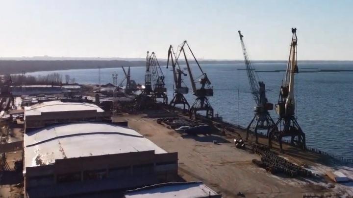 В Октябрьске выбрали площадку для переноса грузового порта из Самары