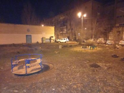 В Самаре на детской площадке подстрелили подростка