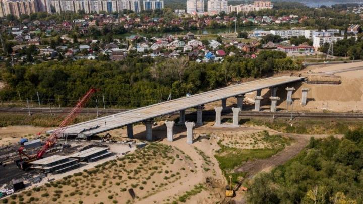 Названа дата полного запуска в эксплуатацию развязок Самарского (Фрунзенского) моста