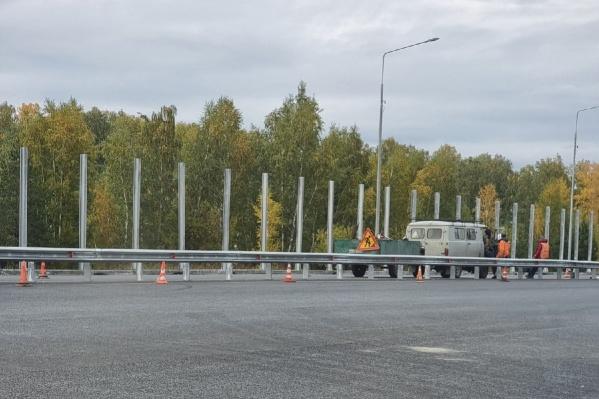 Из-за ремонта трассы «Иртыш» поворот на Зайково оказался закрыт. Местные жители этим сильно недовольны